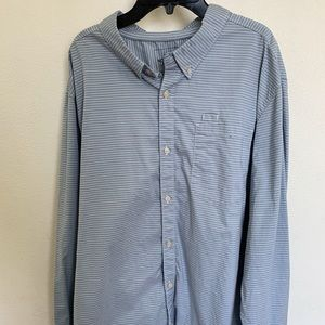 The North Face men's long sleeve button down shirt